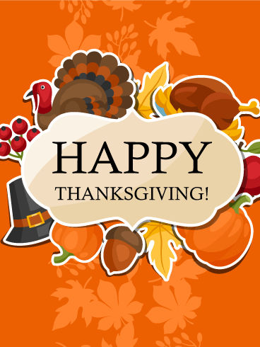 HAPPY THANKSGIVING! — Brookdale Christian Church