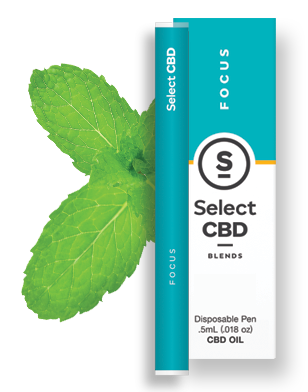Focus- Spearmint CBD Vape Pen - 100% Pure CBD Oil blended with Grapefruit reinvigorates you with natural citrus extracts to help you reconnect and regain energy.Ingredients: CBD Oil, Fractionated Coconut Oil, Grapefruit Essential Oil