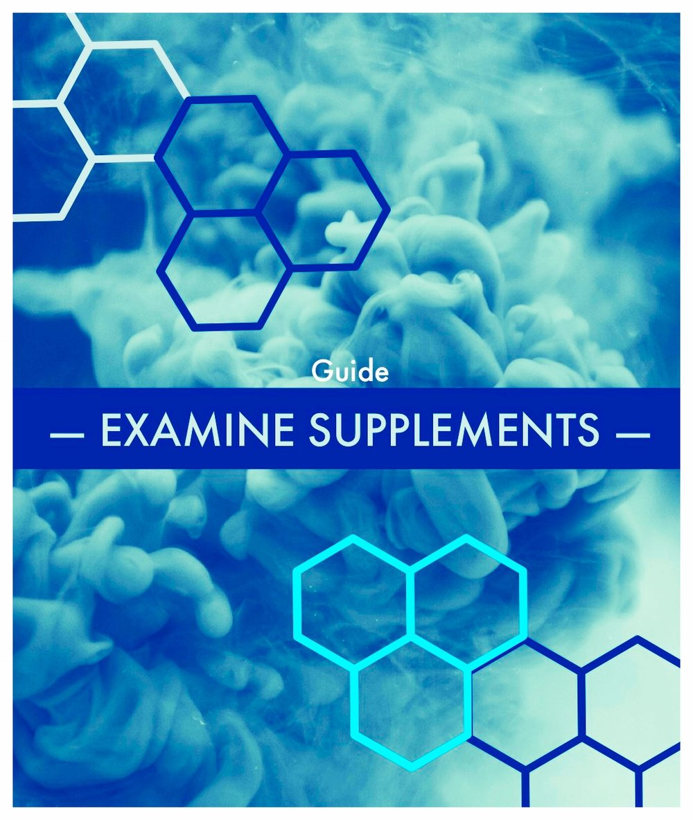 Examine Supplements - Free Supplement Guide and Resources