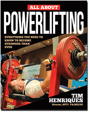 All About Power Lifting - By Tim Henriques