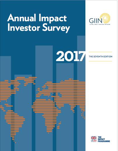 GIIN Annual Impact Investor Survey (2017)