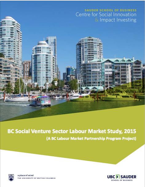 BC Social Venture Sector Labour Market Study
