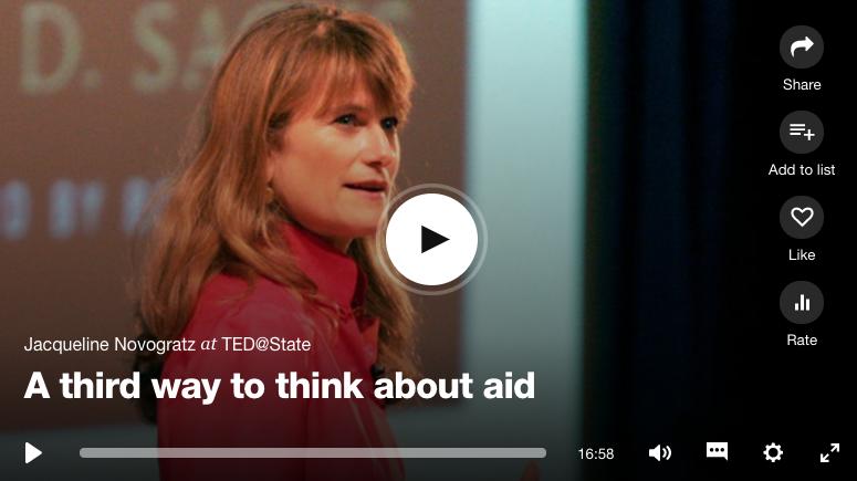 TED Talk: Jacqueline Novogratz