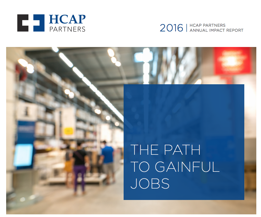 HCAP Partners Annual Impact Report 2016