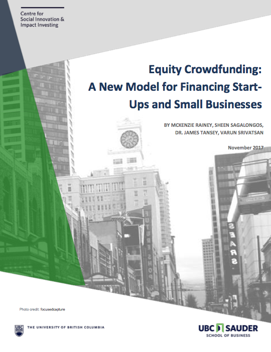 Equity Crowdfunding: A New Model for Financing Start-Ups and