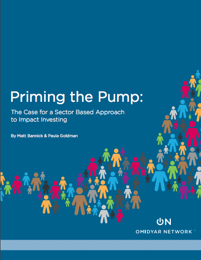 Priming the Pump (Omidyar Network, 2012)
