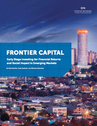 Frontier Capital (Omidyar Network, 2015)