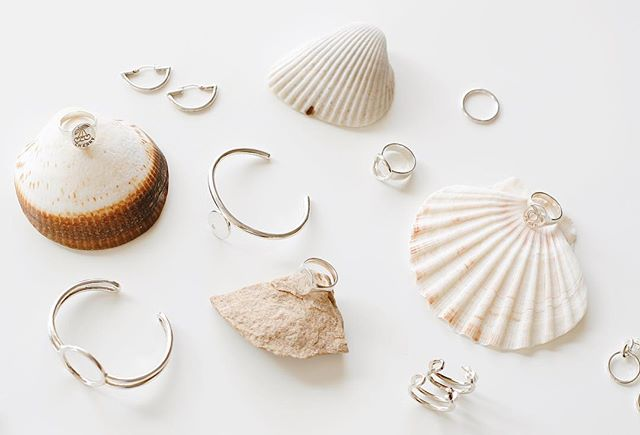 Currently Coveting: Sterling Silver & Seashells 🐚🏹