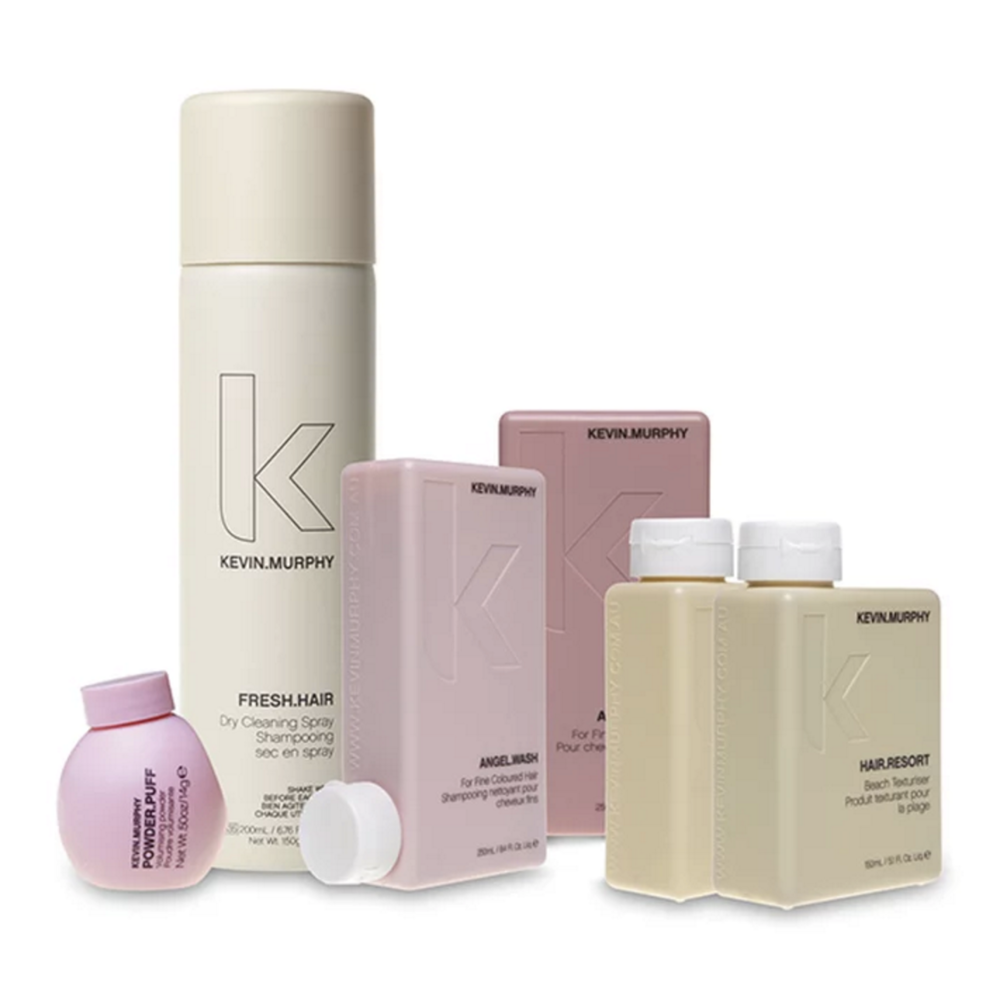 Chrystal L. uses KM products that are  micro cultivation, organic growing practices, or ecologically sound wild harvesting techniques to ensure the KEVIN.MURPHY range is of the very highest natural quality.