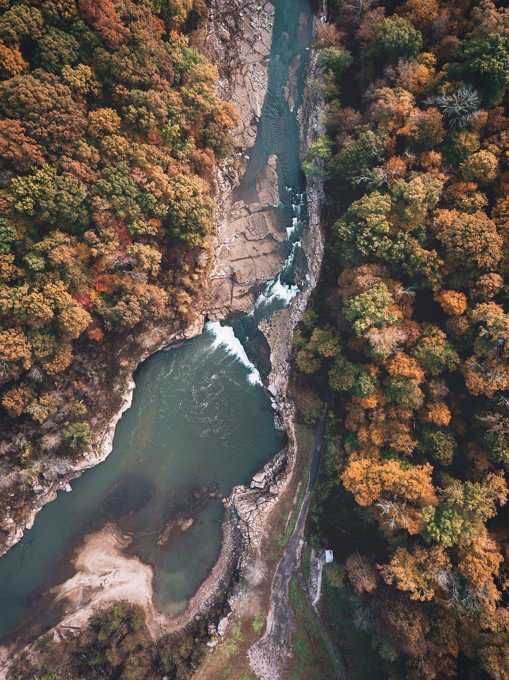 Cataract Falls Lower Falls Drone Shot.jpg