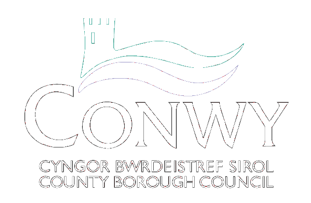 Conwy County Council Logo BW (transparent).png