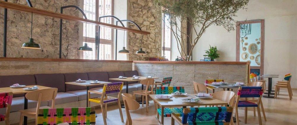 El interior del restaurante Tuc-Tuc.Foto cortesía de  tcherassihotels.com .