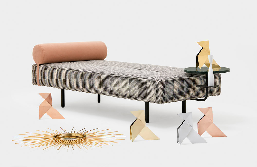 The Bito Chaise lounge from the recent Loos collection.