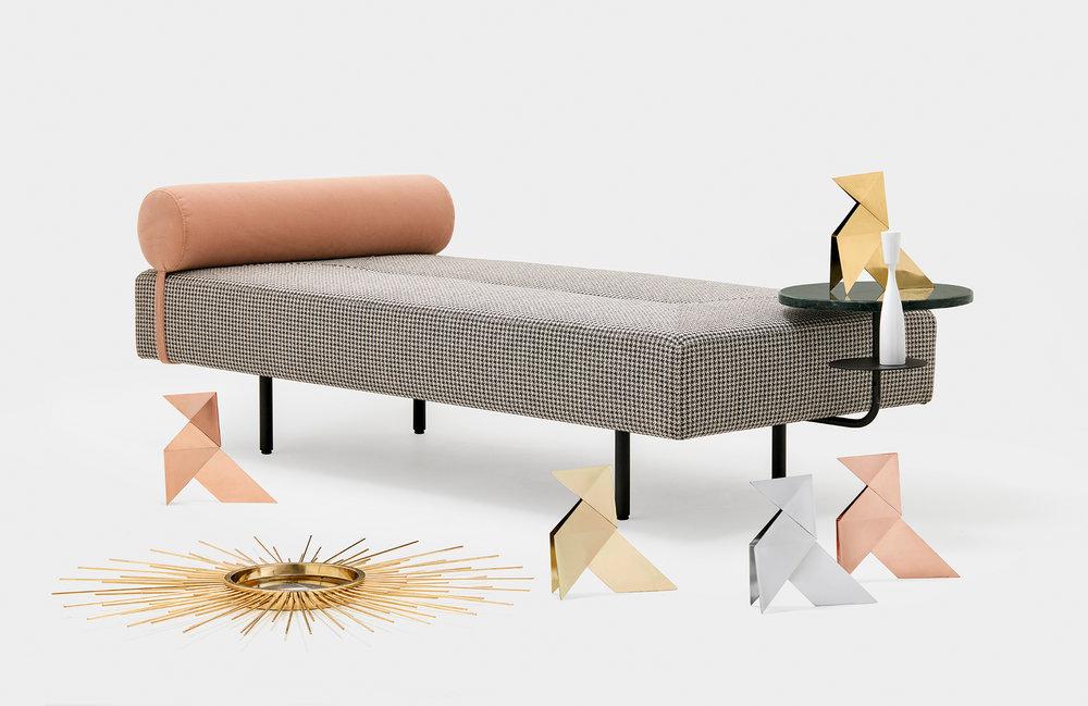 El Chaise lounge Bito de la reciente colección Loos.