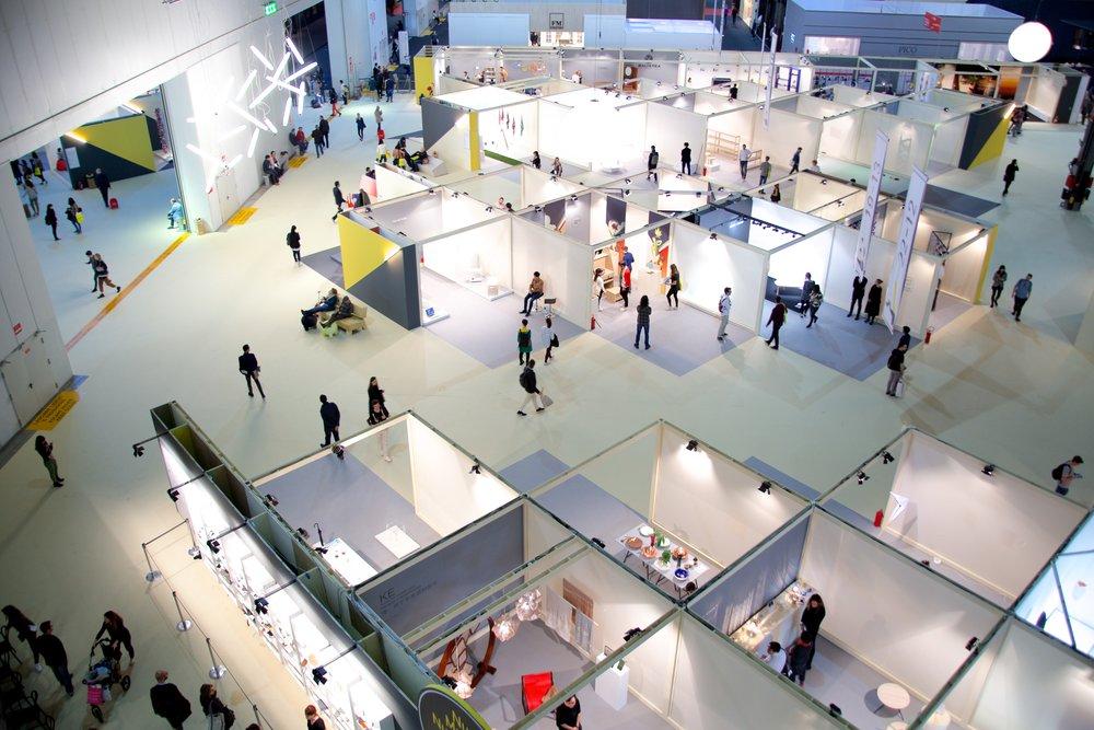 El Salone Satellite, que este año tendrá lugar April 17-22 en Milan.