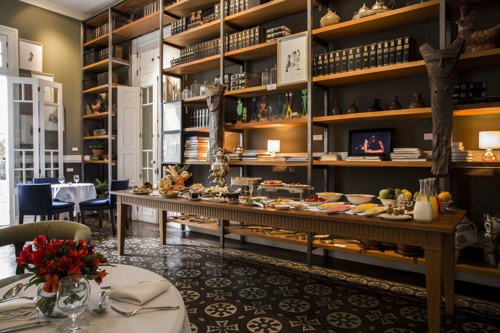 El salón de desayuno en el Hotel B. Foto cortesía del Hotel B.