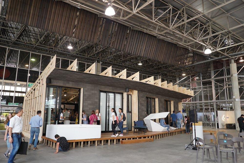 Casa Abierta, una macroinstalación dirigida por TuTaller Design.