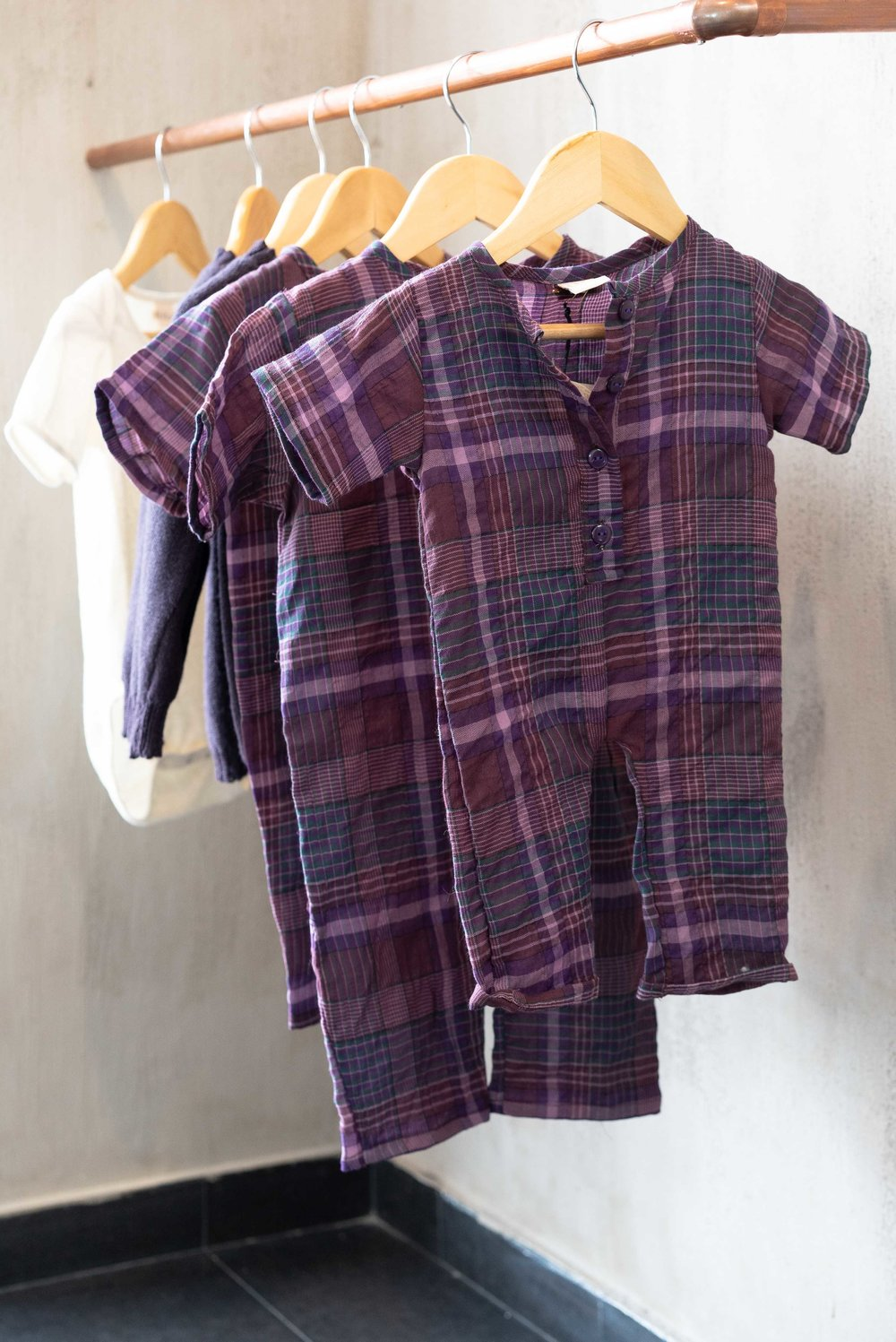 Leda's baby clothes serve as an eco-friendly solution to textile waste.