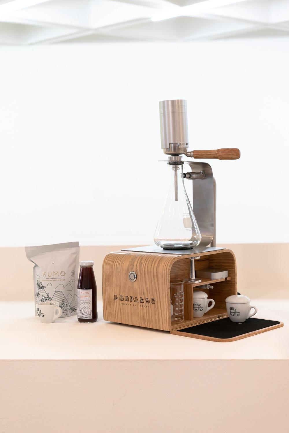 Sorpasso de Kumo Laboratorio de Café