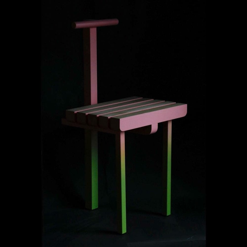 Chair by  Malcolm Majer.