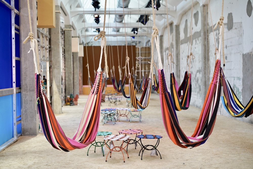 Marni La Vereda, parte del Fuorisalone 2018 durante la Semana del Diseño de Milán.