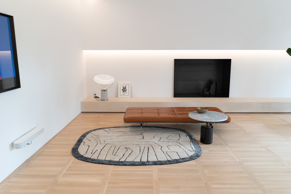 Una habitación dentro de Design House durante Design Week México 2018.
