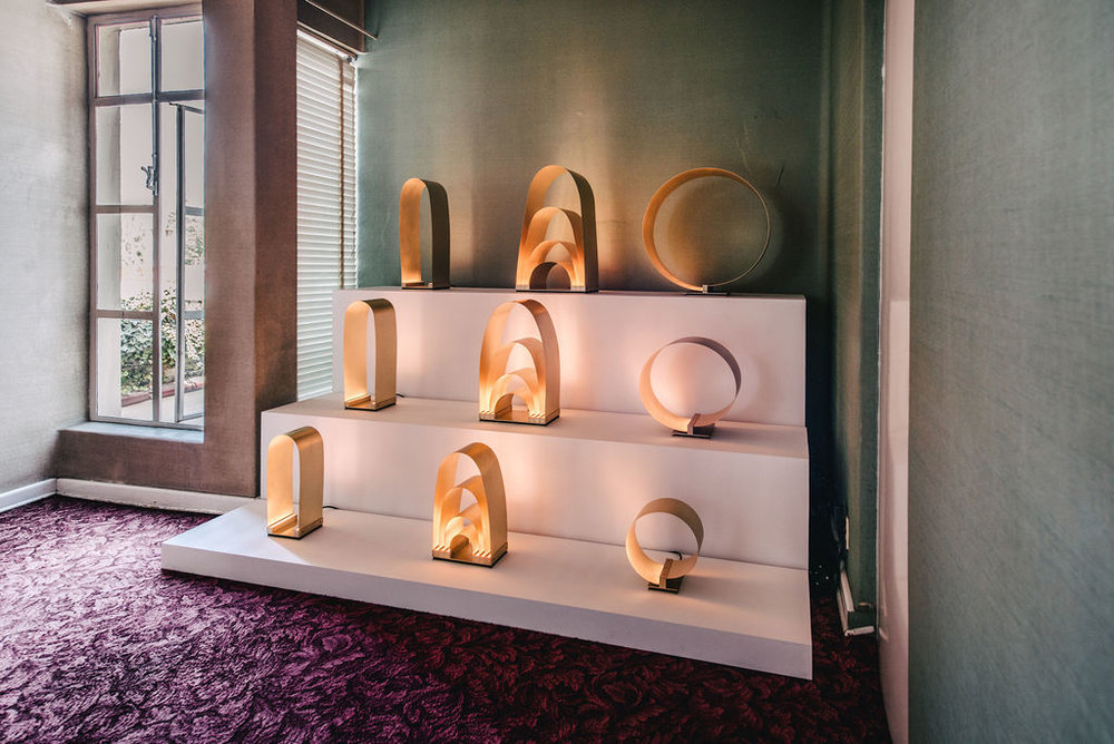 Lamps by Hector Esrawe.