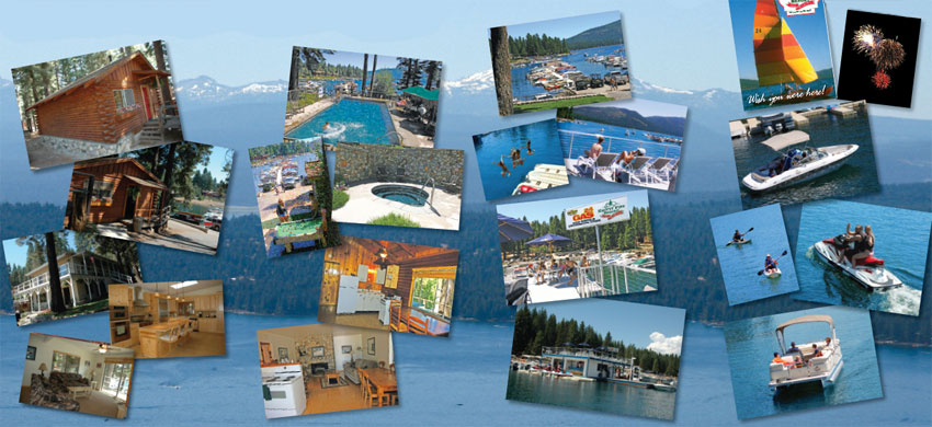 Knotty Pine Resort and Marina Lake Almanor Redding Sportsman's Expo Hunting and Fishing Show