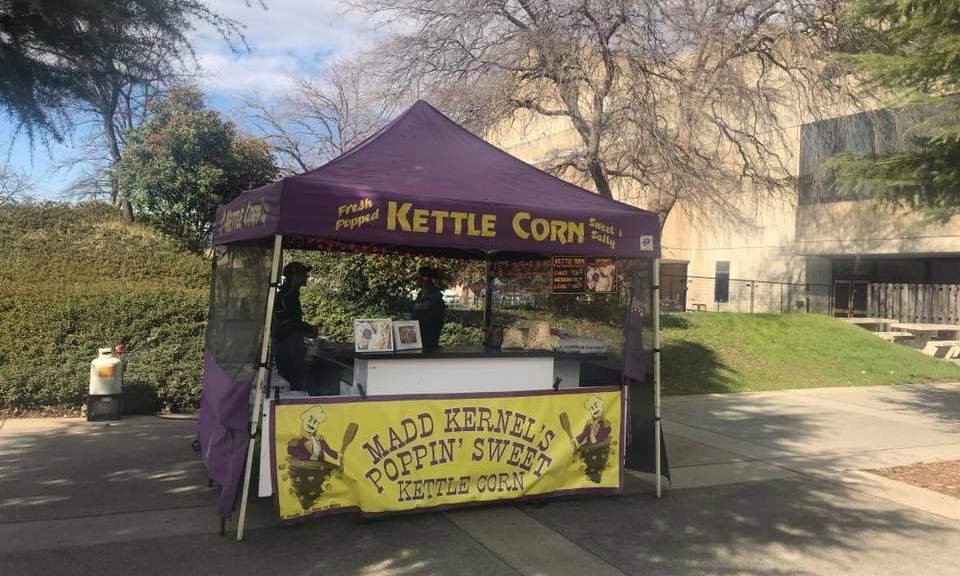 Madd Kernel's Poppin Sweet Kettle Corn Redding Sportsman's Expo Hunting and Fishing Show