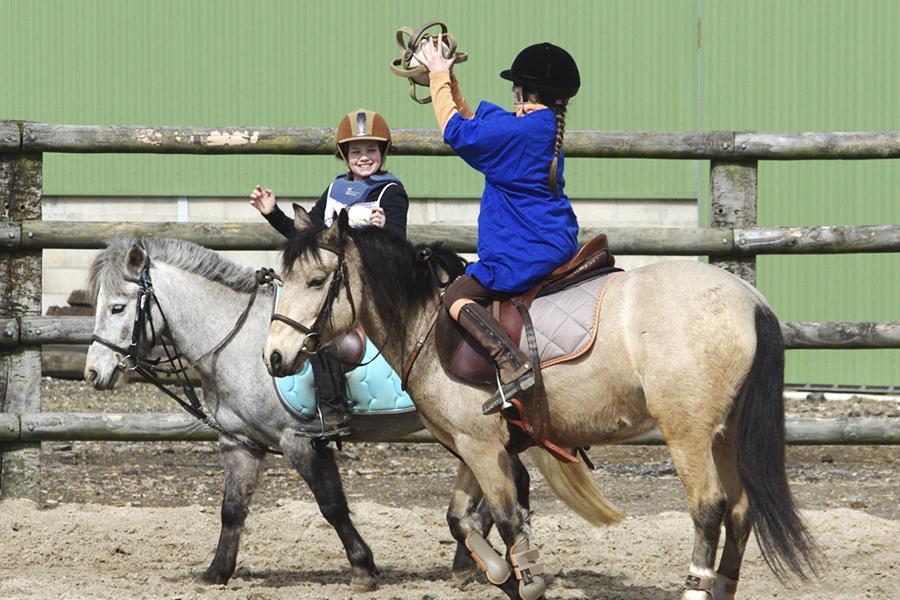 Du sport à cheval !