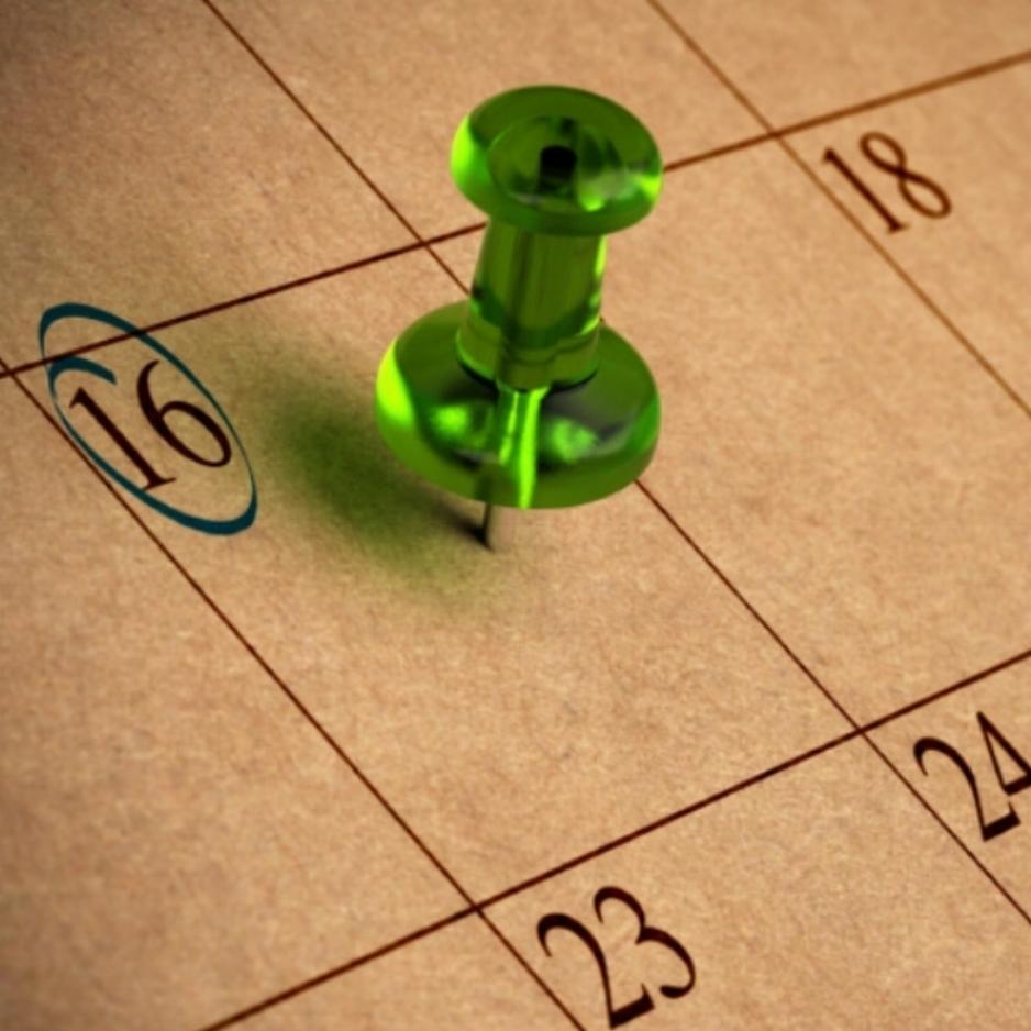 Calendar - COMING SOON -