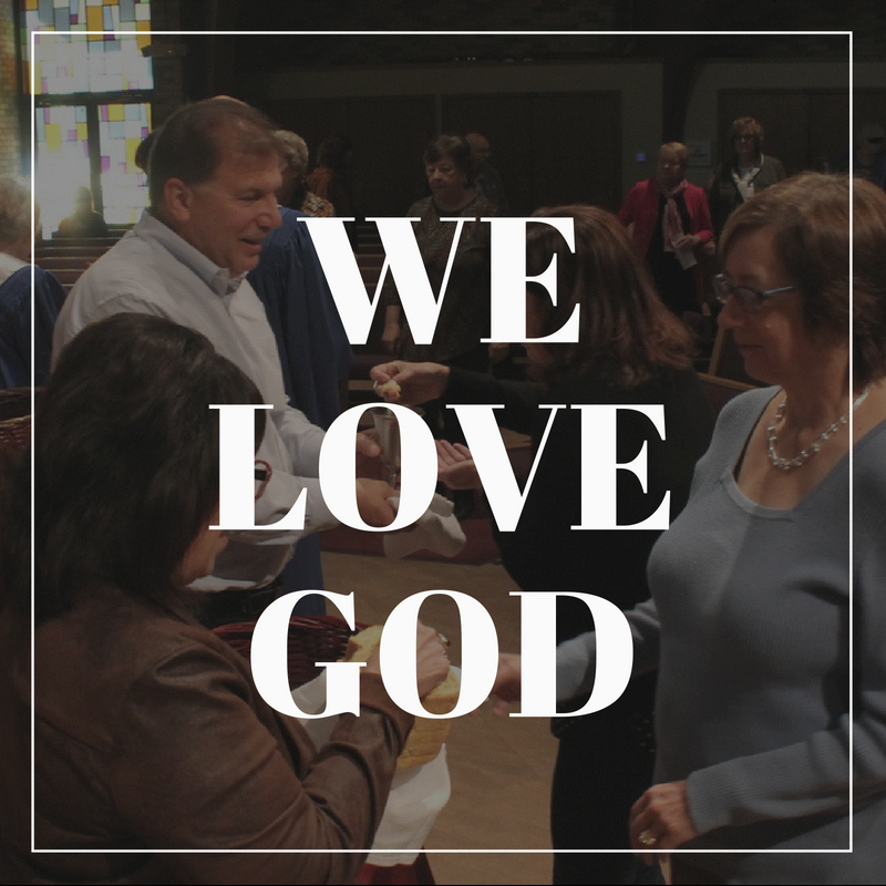 - We worship and celebrate our faith together. We are inspired through reading of scripture, sermons, music, and participation in the sacraments.