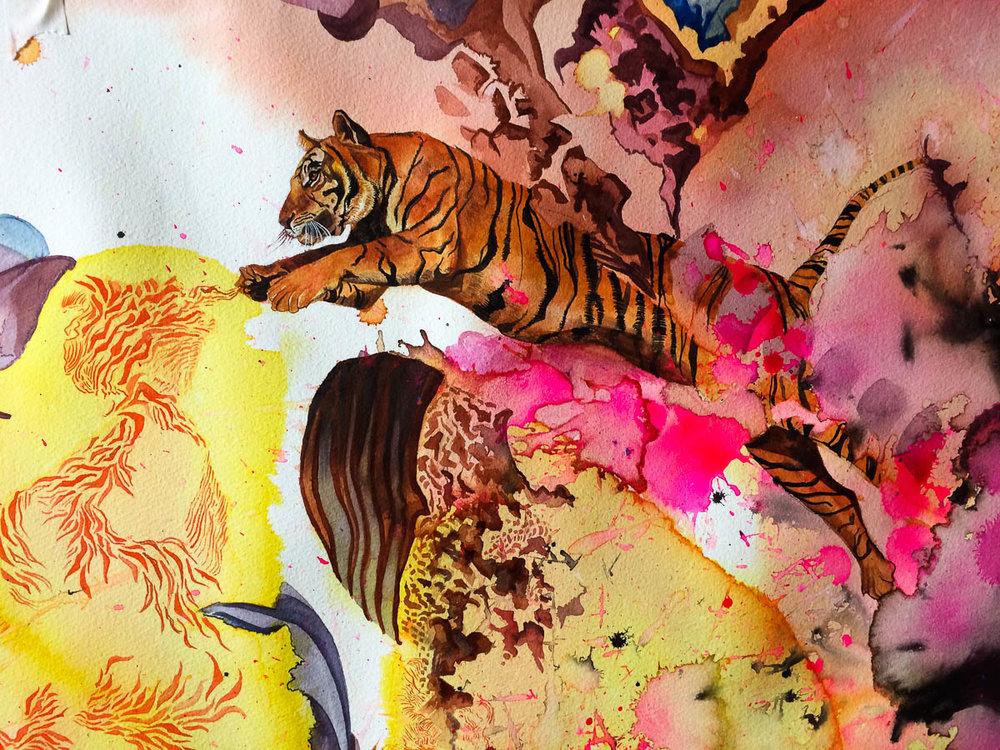 los tigres de putin  detalle