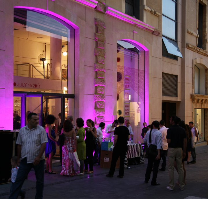 BEIRUT LOVES - a series of cultural pop-up in Beirut - Lebanon