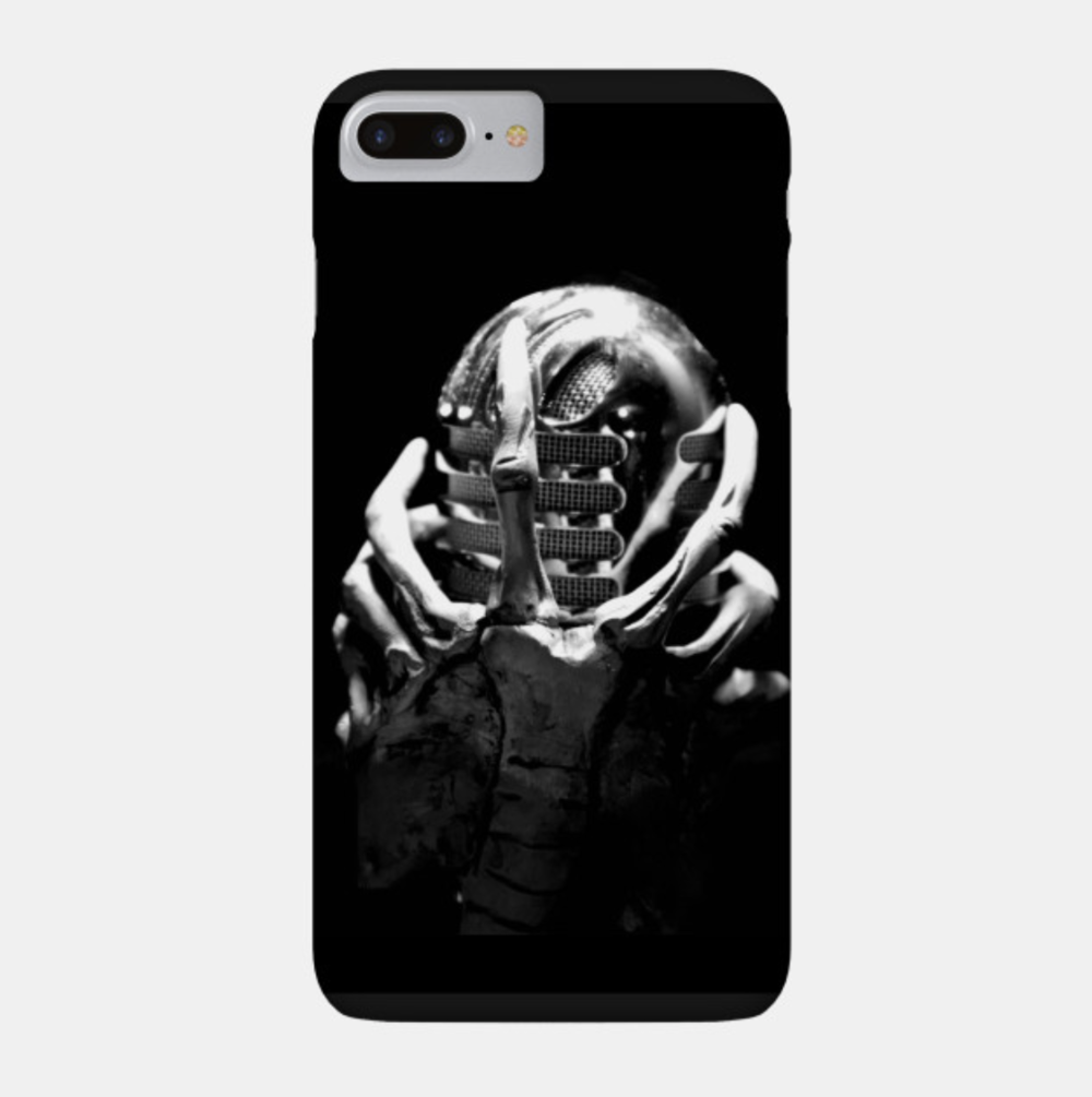 """MICHUGGER"" PHONE CASE: $25/$20 Patrons"