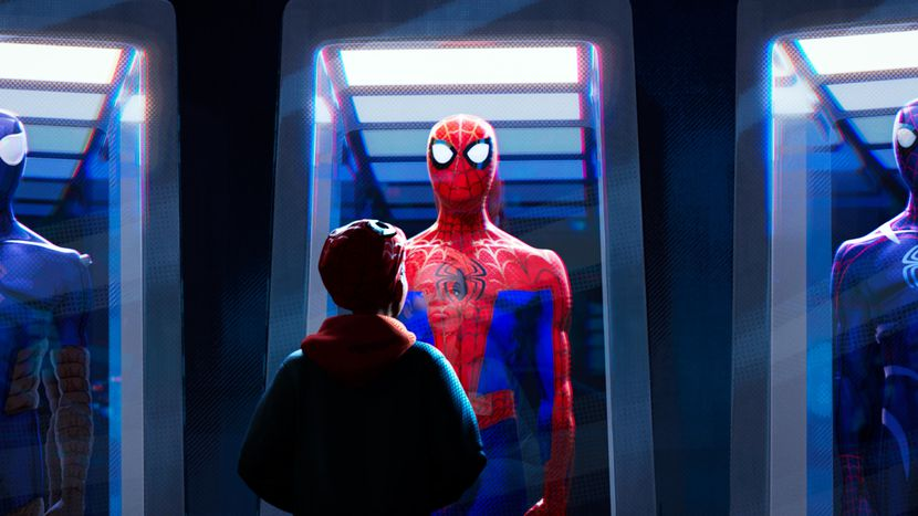 Review Spider Man Into The Spider Verse 2018 Perfect Organism