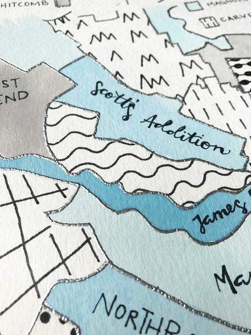 Richmond Virginia Neighborhoods Map