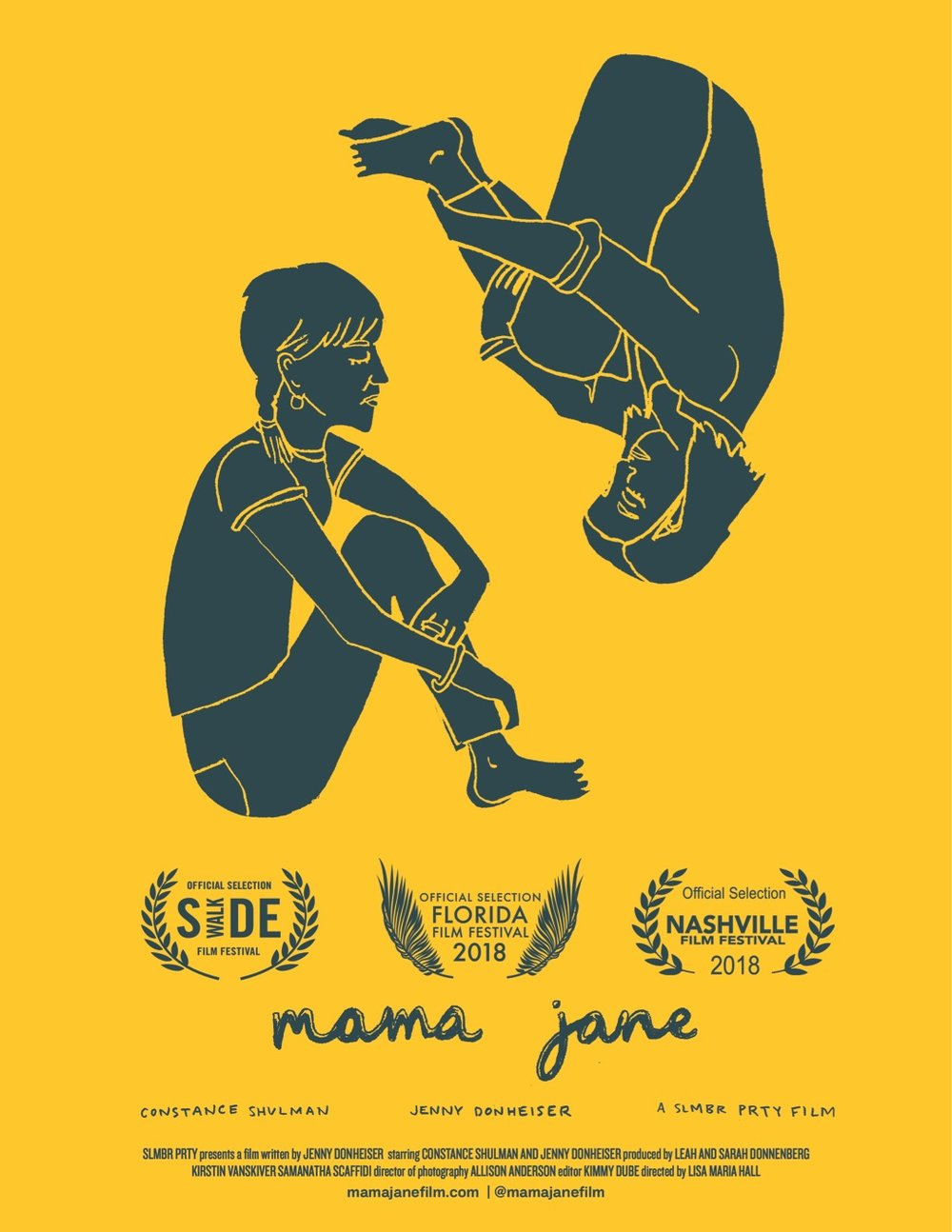 MaMa Jane Hits The Festival Circuit! - Official Selection for Florida Film Festival, Nashville Film Festival, and Side Walk Film Festival