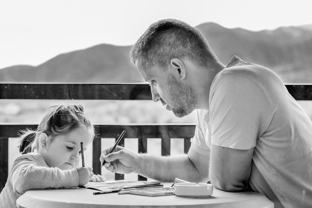 OT occupational therapy outdoors dad daughter