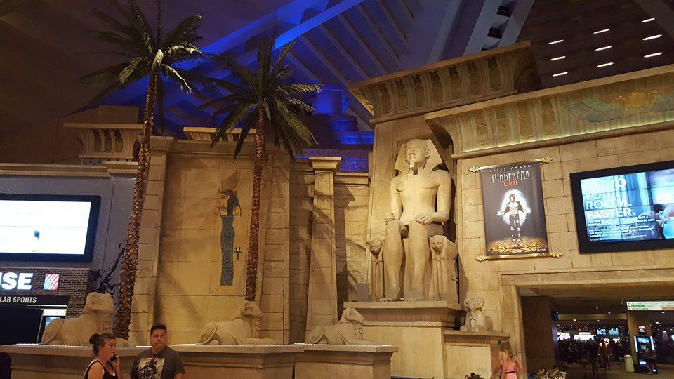 Inside the Luxor!!