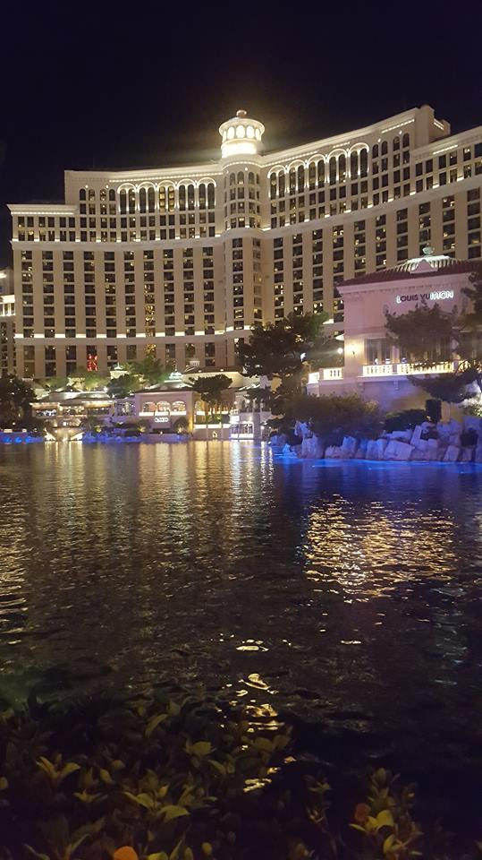 The Bellagio water show!!