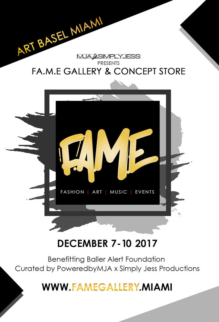 fame gallery concept store round 1 line up ad f a m e gallery