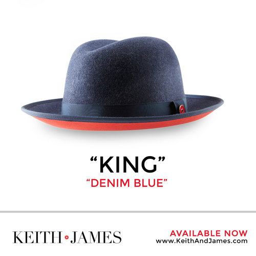 """The """"Keith and James"""" statement headpiece was originated in 2016 after  several months of developing a brand that represented the Keith family  character. 3c46414d866"""