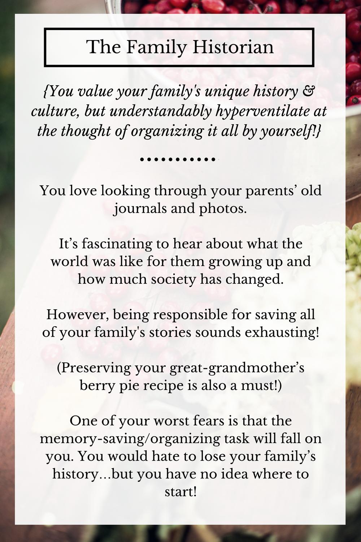 Family History Keepsake Journal | Grandparent memory books | Family memory books | Personalized memory books | Rooted StoryAlbums