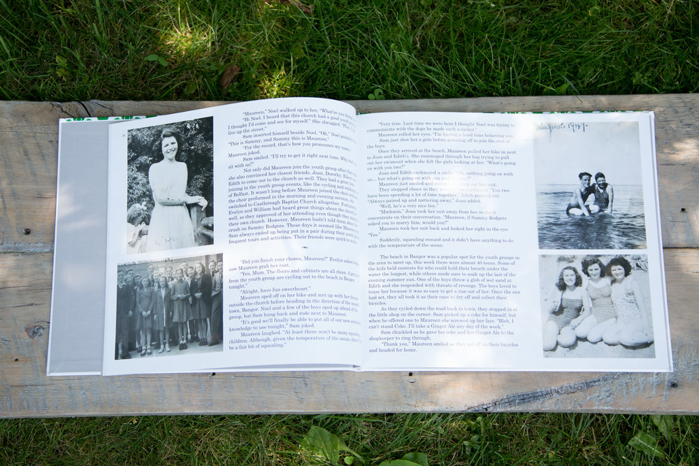 Grandparents Memory Book | Family Legacy Book | Document my life | Personalized legacy book | Rooted StoryAlbums