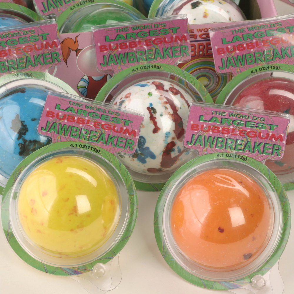 The World's Largest Jawbreaker ®
