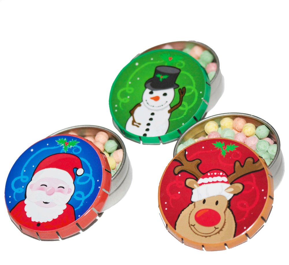 Holiday Clicker Tins ®