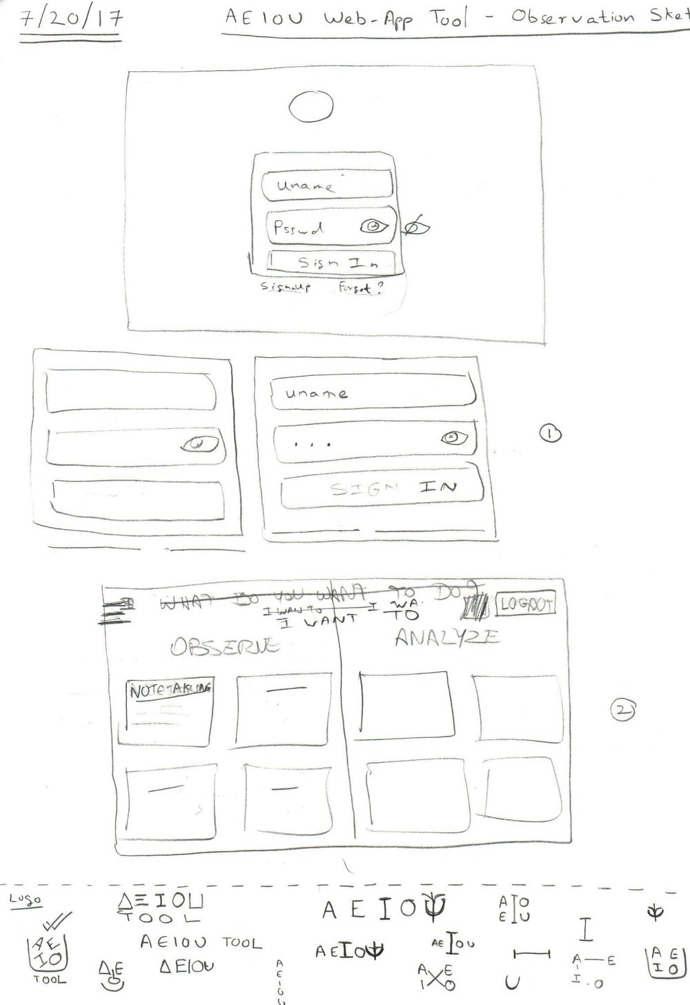 Sketches for the tool (1)