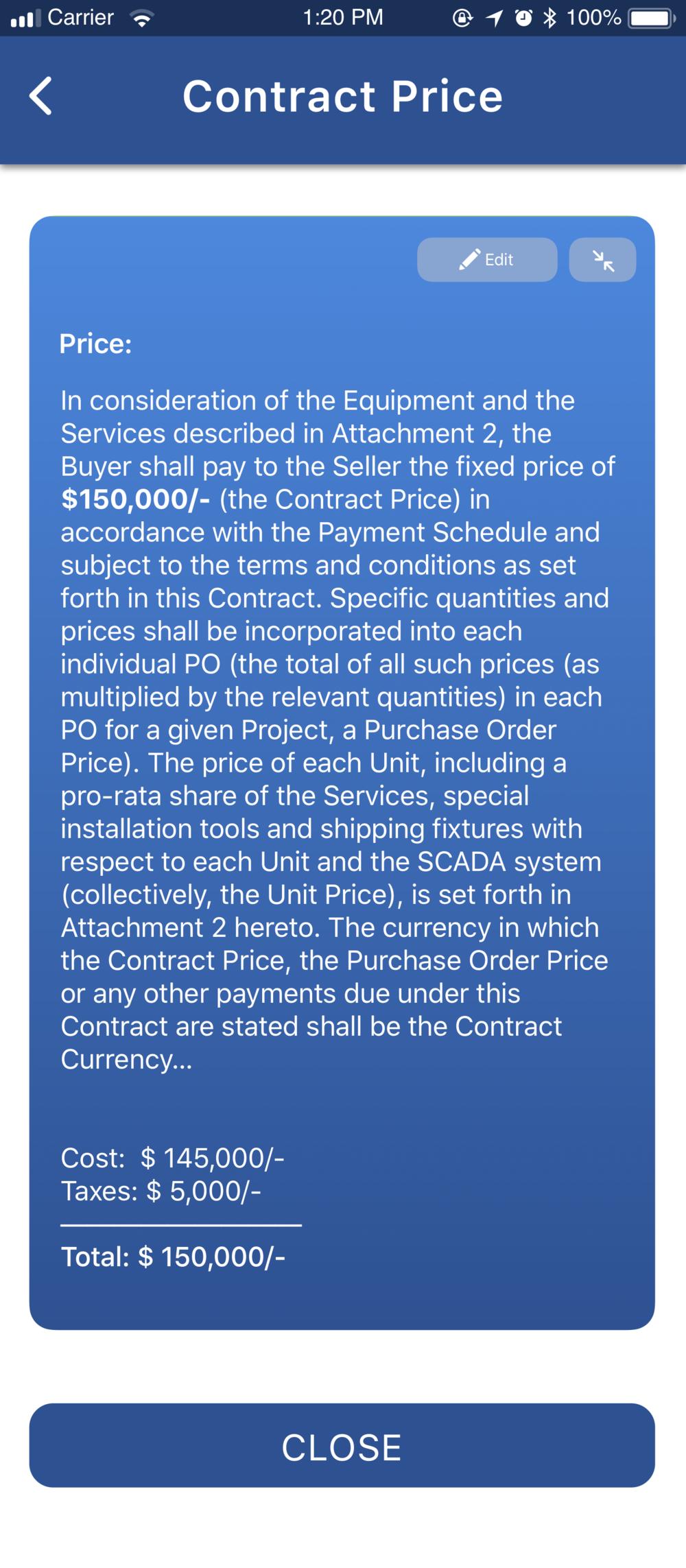 Create contract 1.3