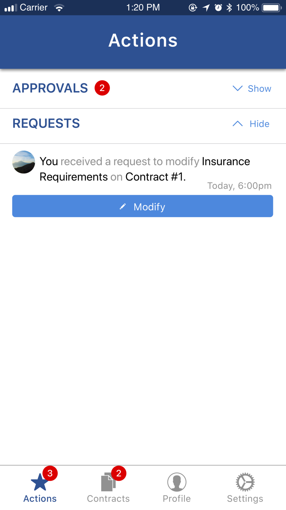 Modify 1.1